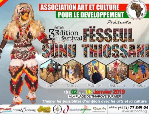 3ème festival Fesseul sunu thiossane