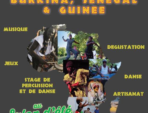 Annulation – Carrefour Afrique – Burkina, Guinée, Sénégal – Genève -28 juillet 2019