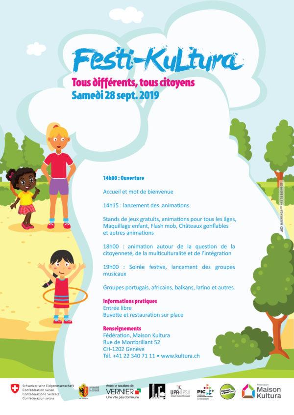 affiche Festi-Kultura verso